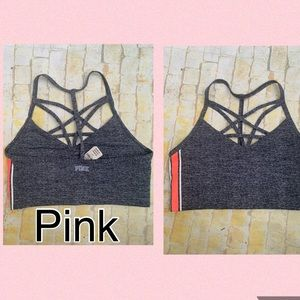 New pink ULTIMATE HIGH IMPACT SPORTS BRA